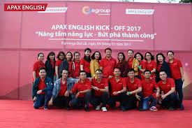 Teambuilding Apax English 2017